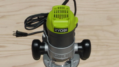 how to use a Ryobi router