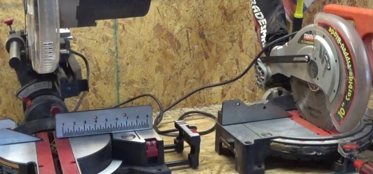 miter saw vs compound miter saw