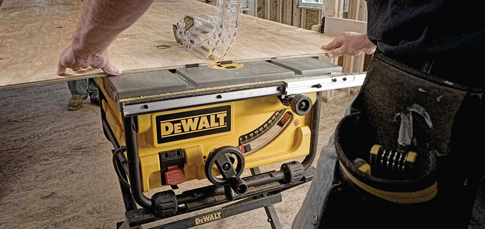Which Dewalt Table Saw Accepts Dado